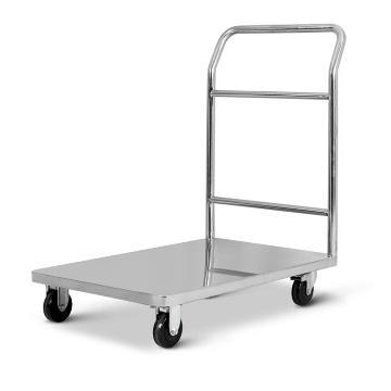 不锈钢单层手推车, 单扶手 850*560*950mm