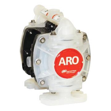 """英格索兰/Ingersoll Rand PD01P-HPS-PAA-A ARO1/4""""非金属壳体气动隔膜泵"""