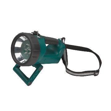 世达 90708A 手提式锂电充电聚光灯 手提式探照灯LED工作灯3W白光含锂电池含充电器,单位:个