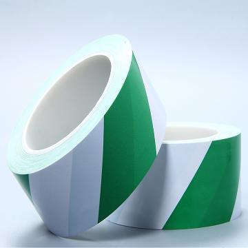 反光警示胶带,50mm*22.5m,绿白间隔