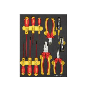 史丹利绝缘工具托,11件套专业级,LT-012-23