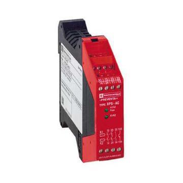 施耐德 安全继电器,XPSAC5121
