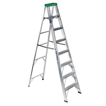 稳耐 单侧人字梯,踏台数:8 额定载荷(KG):102 工作高度(米):1.8,358CN