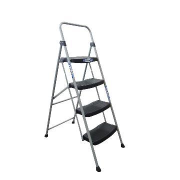 稳耐 铁质宽踏板家用梯,踏台数:4,额定载荷(KG):102,工作高度(米):0.94,244-5CN
