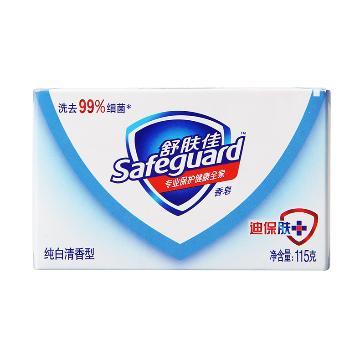 舒肤佳香皂,纯白清香型 108g ,单位:个(替代原先产品115g,条形码一样)