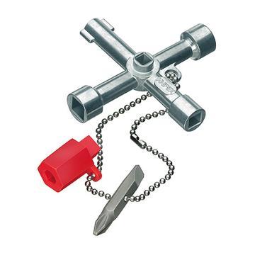 凯尼派克 Knipex 控制柜钥匙,00 11 03