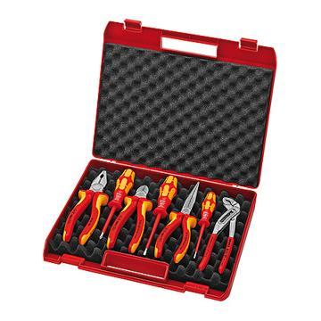 凯尼派克 KNIPEX 7件套紧凑型工具组套00 21 15