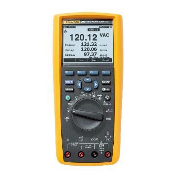 福禄克/FLUKE FLUKE-289/FVF真有效值工业用记录万用表套件,标配FVF软件和通讯线