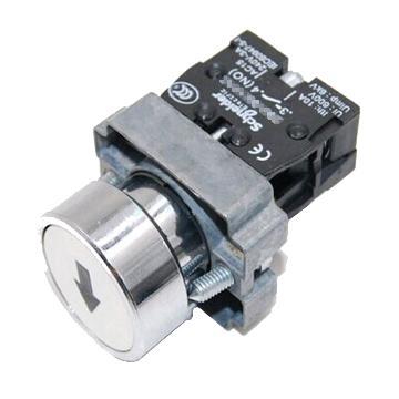 施耐德 金属带符号平头按钮,XB2BA3341C