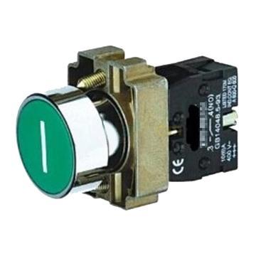 施耐德 金属带符号平头按钮,XB2BA3311C