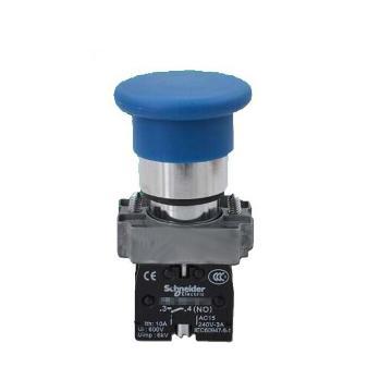 施耐德 金属蘑菇头按钮,XB2BC61C Φ40