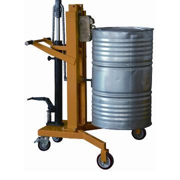 虎力 液压油桶搬运车,叼扣式450kg(钢桶)