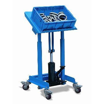 双支撑液压式工位台,载重:150Kg,台面离地高度:720-1070mm