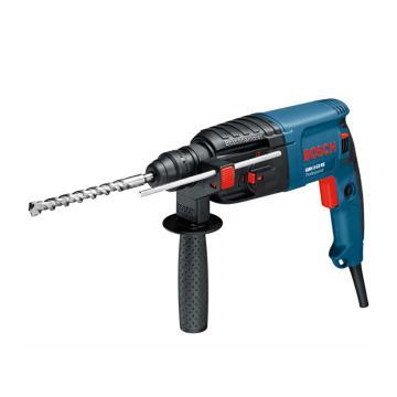博世电锤,2.3kg四坑正反转、可调速锤钻,650W,GBH 2-23RE,0611250480