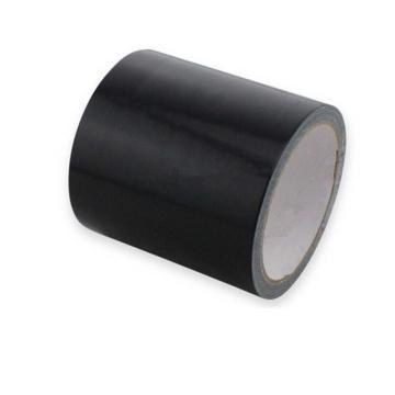 地板划线胶带(黑)-高性能自粘性PVC材料,黑色,100mm×22m,14338