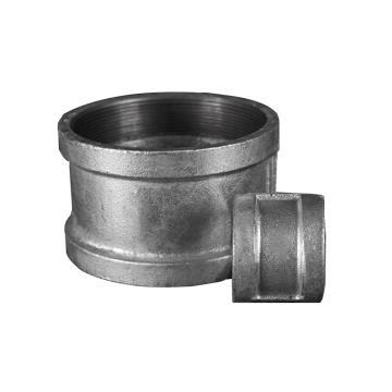 """逸林/YILIN TE-04R-FE 螺纹管箍,镀锌DN15 1/2"""""""