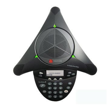 宝利通电话机, Soundstation 2 会议(标准型 有液晶显示,2200-16000-022)