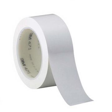 3M 白色471聚氯乙烯胶带,50mm×33m