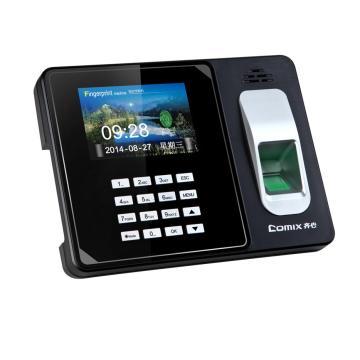 齐心 OP600C 指纹考勤机 高清大彩屏免软件 黑
