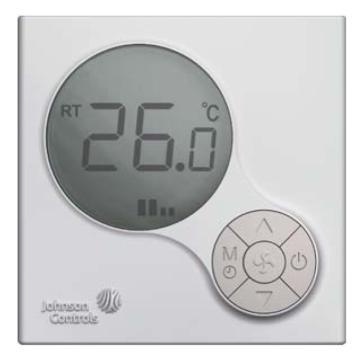 风机盘管液晶温控器,江森,T6634-TE22-9JS0