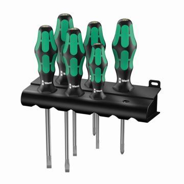维拉 wera 334/6 Rack Lasertip 螺丝刀组套 334  05105650001