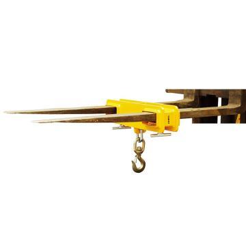 叉车专用货叉吊,1吨   货叉孔尺寸140X55mm  两侧货叉孔内间距250mm
