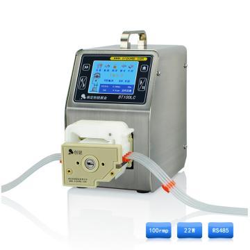 智能流量型蠕动泵 ,BT100LC DG-1(6滚轮),每通道0.006~45ml/min,创锐