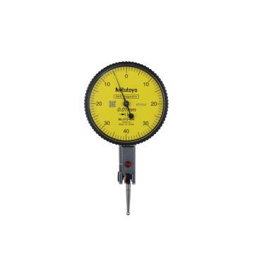 三丰 杠杆百分表,513-404-10C(513-404C升级),0-0.8*0.01mm