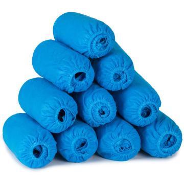 一次性鞋套,蓝色,100双/盒