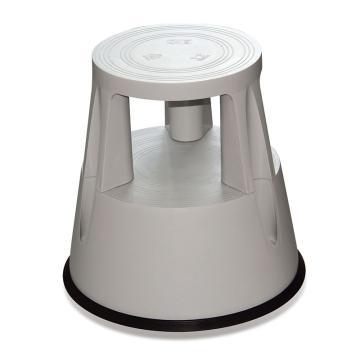 脚凳-灰色,高强度防碎塑料制成,最大承重150kg