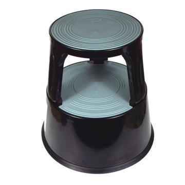 脚凳-黑色,高强度防碎塑料制成,最大承重150kg