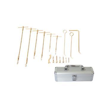 桥防 防爆盘根工具,铝青铜,16件套, 315-1002AL