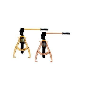 桥防 防爆整体液压拉马,铝青铜,5T,273B-5AL,防爆一体式液压拉马 防爆轴承皮带轮拆卸工具