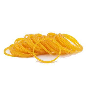 橡皮筋,黄色,100个/盒