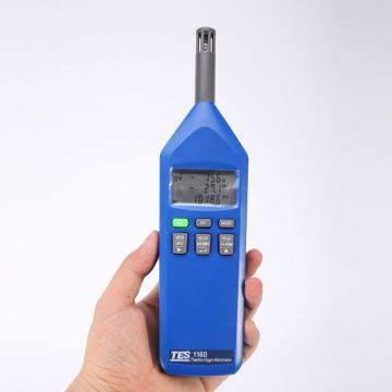 泰仕/TES TES-1160温度/湿度/大气压力计