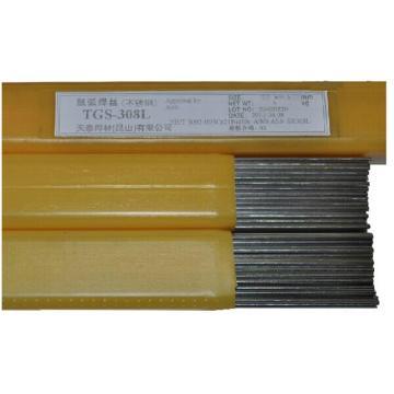 天泰不锈钢实芯焊丝,TGS-308L,Φ2.4直,5公斤/盒