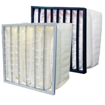袋式中效空气过滤器,AAF,Dripak 2000 宽*高*厚度594x594x534mm,过滤效率F7