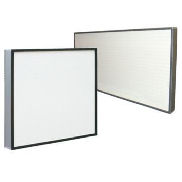 无隔板高效过滤器,AAF,AstroCel II 610x610x80mm,过滤效率H13-U16,双面喷塑钢板网