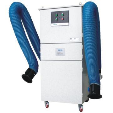 智能双臂移动式烟尘净化器,ROVA,MC-30,2.2kw,全自动脉冲清灰,含3米双臂