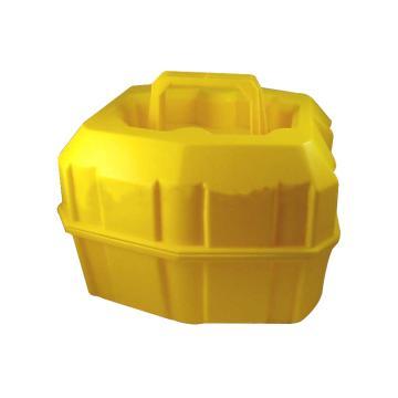 NALGENE半升装安全试剂瓶搬运篮,线性低密度聚乙烯