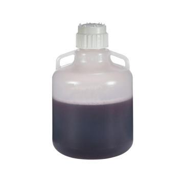 可高温高压操作的细口大瓶,带手柄,聚丙烯,10L容量