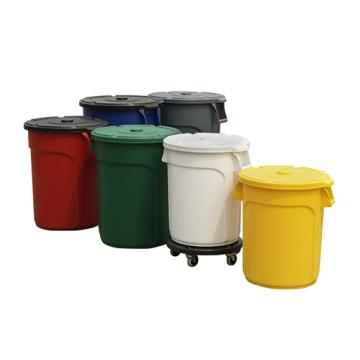 圆形储物桶,Trust,75L 白色