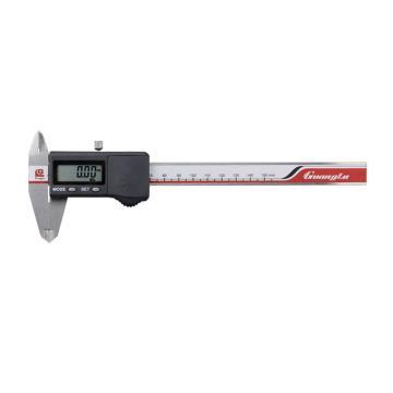广陆 数显卡尺,0-200mm(IP67防水)