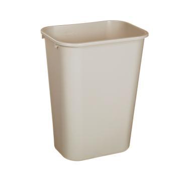 乐柏美中型垃圾桶,灰色,26.6L