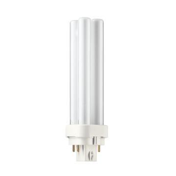 飞利浦 13W 紧凑型4针 分离式节能灯,插拔管,PL-C 13W/840/4P,中性光 4000K