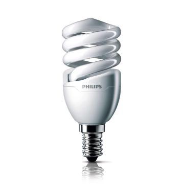飞利浦 Tornado T2 螺旋形节能灯,8W CDL 白光 E14,单位:个