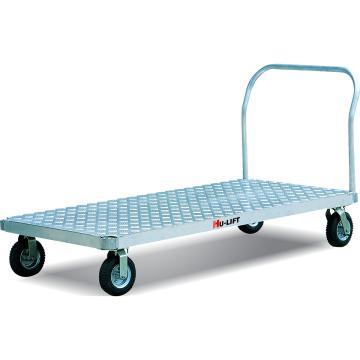 重载型铝制平板手推车,额定载重量(kg):900,台面尺寸(mm):1830*915