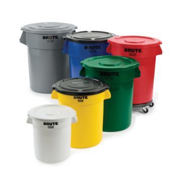 储物桶,乐柏美圆形储物桶,灰色,75.5L