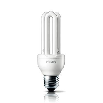 飞利浦 5W Genie紧凑型 2U节能灯,5W WW E27,整箱 12只/箱