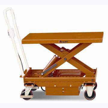 虎力 单剪电动升降平台车,载重(kg):750,起升范围(mm):450~950